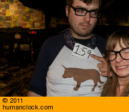 Jonah Ray and Deanna