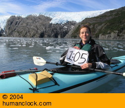 Humanclock in Alaska
